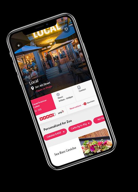 MyMenu-nutrition-local-restaurant-recome