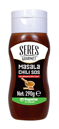 Seres Gourmet Masala Chili Sos - Acı Baharatlı Hint Sosu 285g