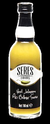 Seres Foods Yeşil Jalapeno Acı Biber Sosu 100 ml