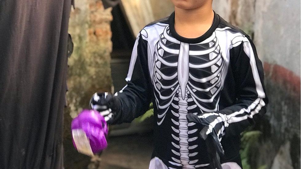 Fantasia Infantil Esqueleto