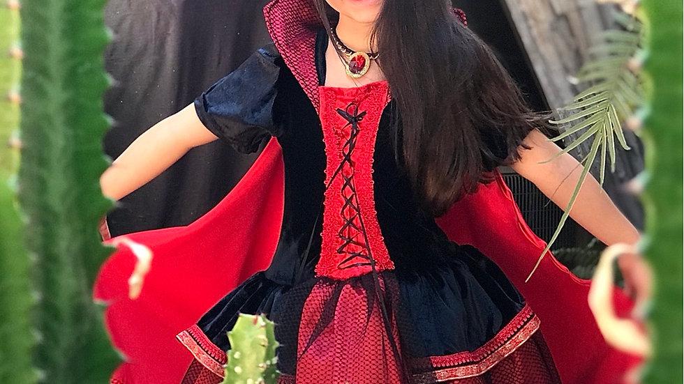 Fantasia Vampira Infantil