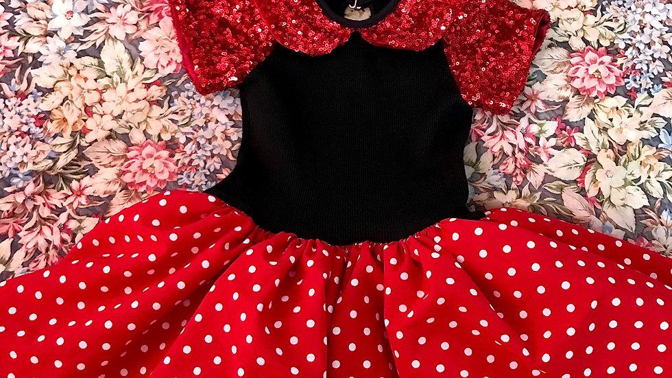 Fantasia Infantil Ratinha Vermelha