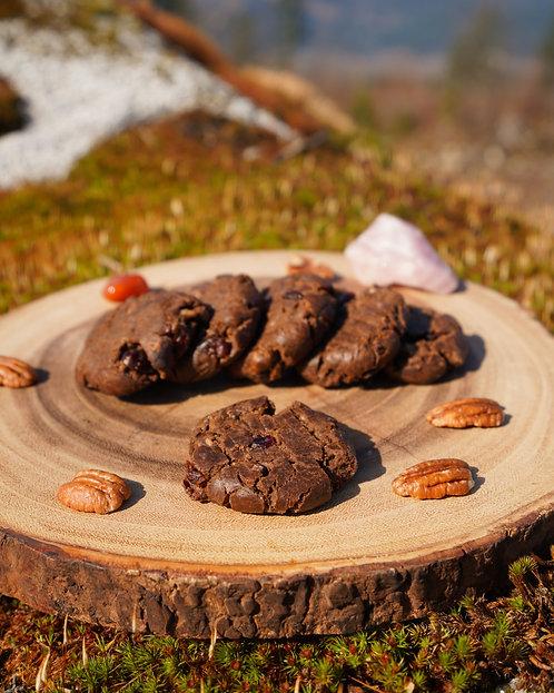 Chocolate Cranberry Orange Cookies - 1/2 Dozen