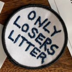 Only Losers Litter Patch
