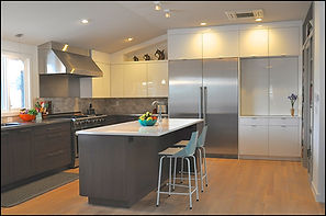 contemporary kitchen, cooks kitchen, sub zero