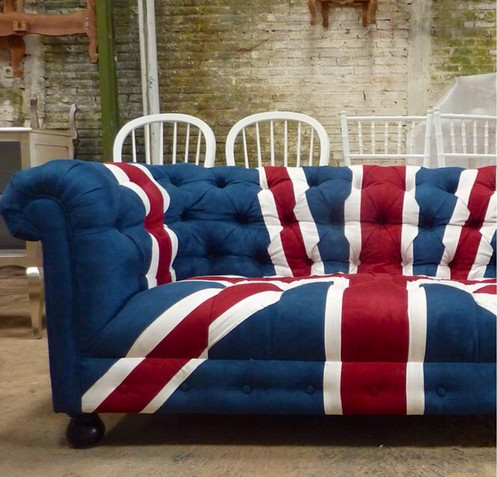 Union Jack Chesterfield 3 Seater