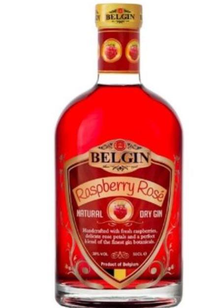 Belgin Raspberry Gin 70cl