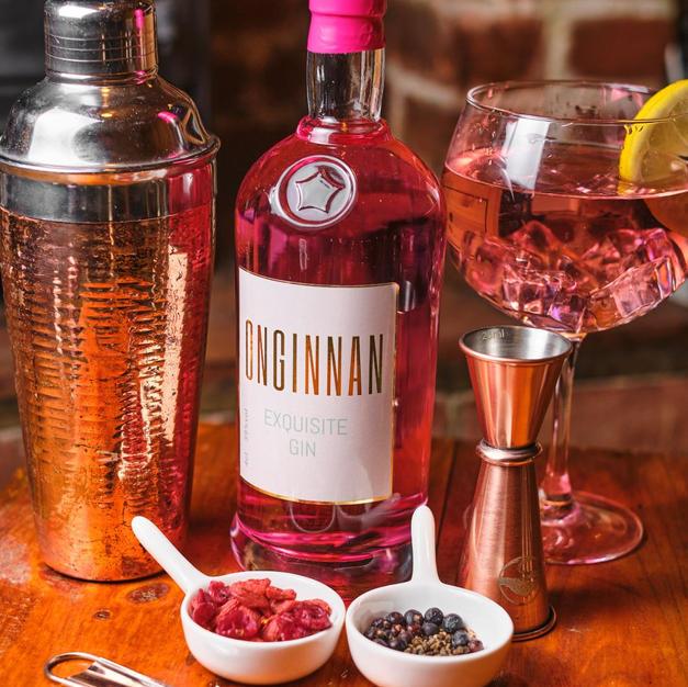 Onginan Pink Gin 70cl