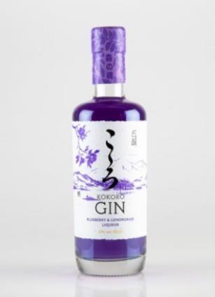 Kokoro Gin Blueberry and Lemongrass Liqueur