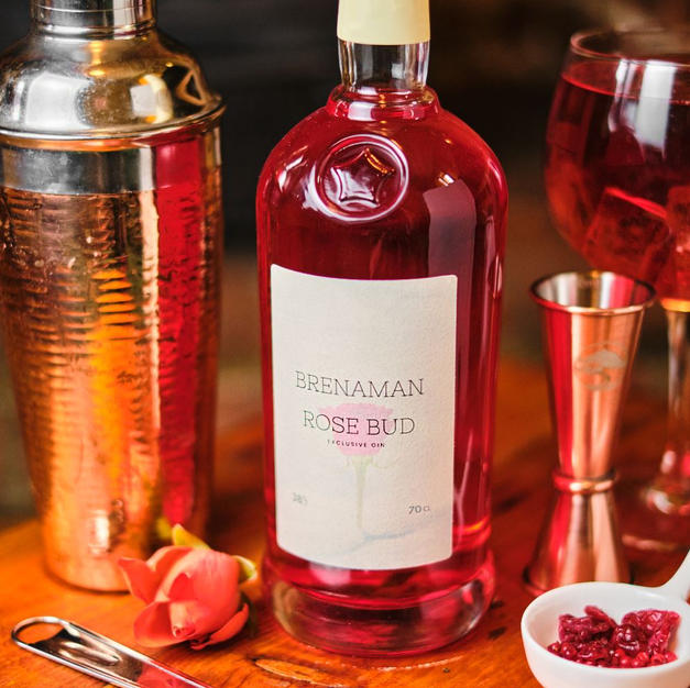 Brenaman Rose Bud Gin 70cl