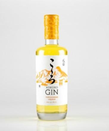Kokoro Gin Uzu and Ginger Liqueur 50cl