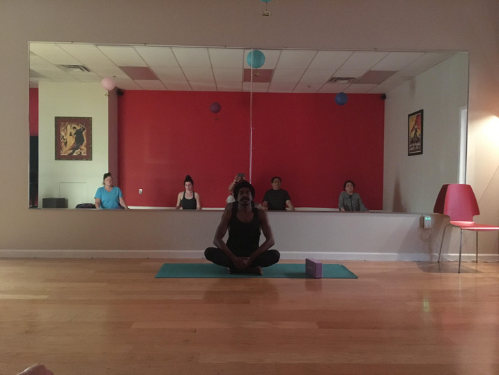 Yoga Art is Motion class with Mediation