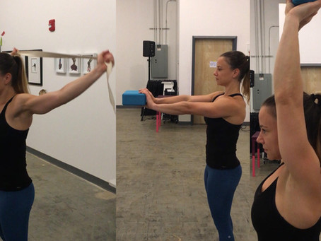 We have to make sure to care for our shoulder health for arm balances and everyday life