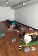Yoga Hip Opening Community class Sanskri