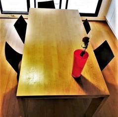 Table et piétement en Chêne