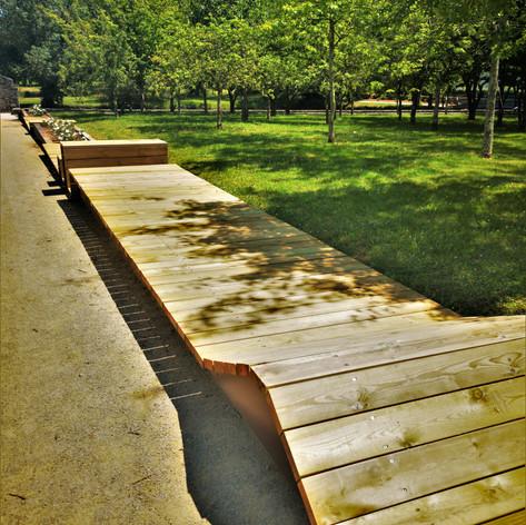 Aménagement exterieur parc de la Bégraisière