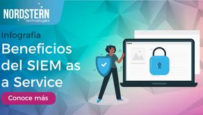[Infografía] Beneficios de SIEM as a Service