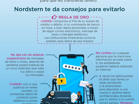 Infografía ¡CUIDADO CON EL VISHING!