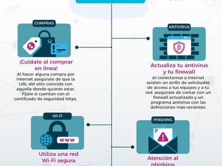 Infografía: 11 de febrero, Día Internacional de la Internet Segura