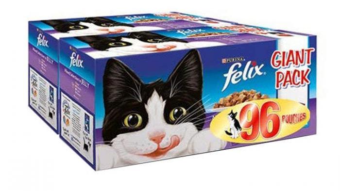 Felix 96 Mixed Selection Pouches