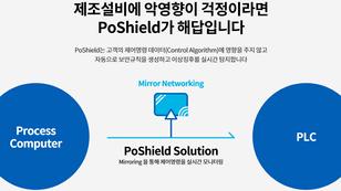 """4차 산업혁명시대 산업 제어시스템 보안에도 변화가 필요하다. 그 해답은 """"PoShield""""에 있다."""