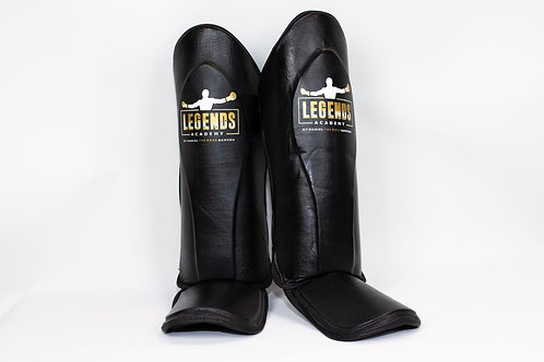 LA Leather Shin Pads