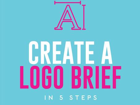 Create a logo design brief in 5 steps!