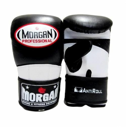 2 Morgan V2 Pro Curved Leather Bag Mitts