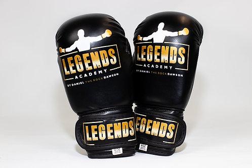 LA KIDS Training Gold Trim Gloves
