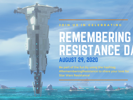 REMEMBERING RESISTANCE DAY ANNOUNCED FOR AUGUST 29
