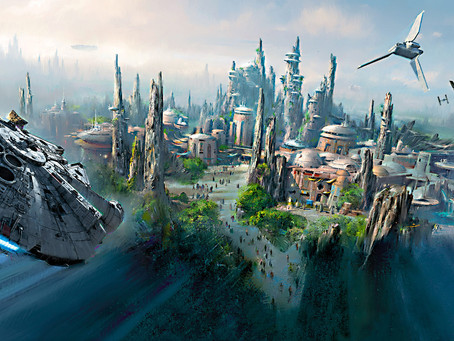 """Review - """"THE ART OF STAR WARS: GALAXY'S EDGE"""""""