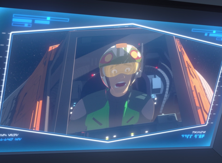 STAR WARS RESISTANCE, OR IT'S OKAY TO BE SILLY!