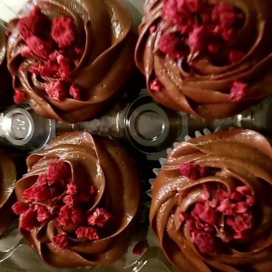 Berry Unique Cupcakes