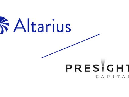 Altarius as AIFM of Presight Capital