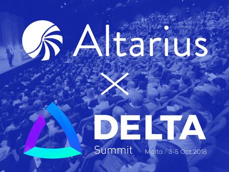 Altarius at Delta Summit