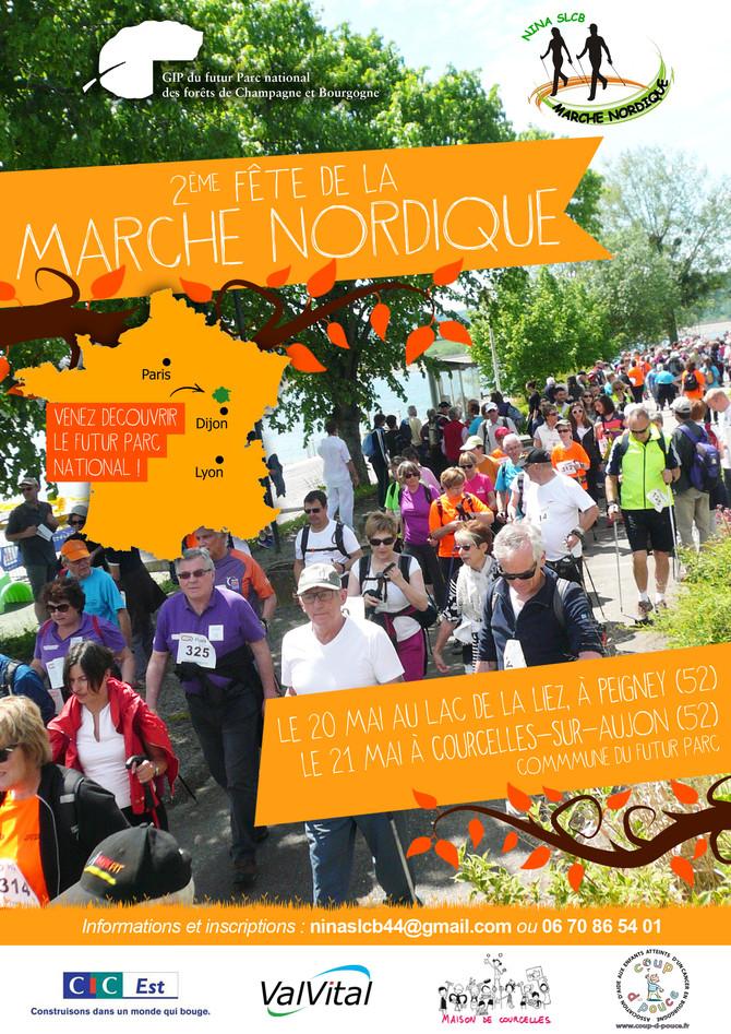 Marche Nordique 20 et 21 mai 2017