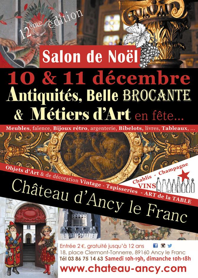 Salon de Noël- Château d'Ancy le Franc