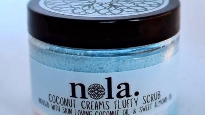 Coconut Creams Fluffy Scrub