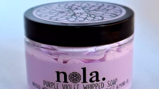 Purple Violet Whipped Soap