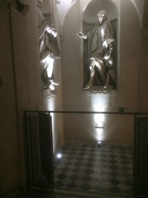 Illuminazione palazzo storico