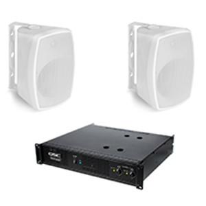 Coppia Speaker passivi + Amplificatore Qsc