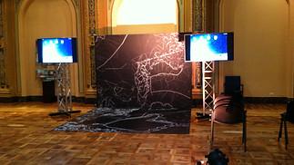 Installazione Monitor Congressi Genova