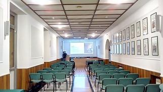 Installazione Sala Conferenze Federfarma Genova