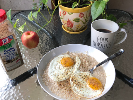 Savory Breakfast Eggs 'N' Oats