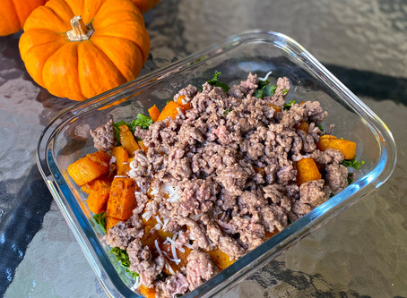Meal Prep- Southwesterny Sweet Potato Bowl