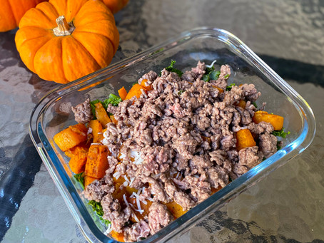 Meal Prep- Southwesterny Sweet Potato Bowl