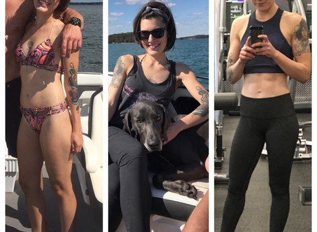 How I Transitioned from Under Eating to GAINING Weight and Muscle