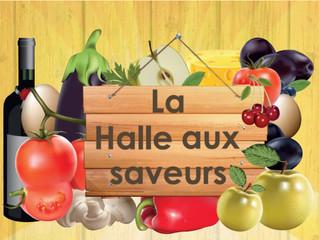 ATTENTION PAS DE Halle aux saveurs ce vendredi 03 juin !!! On se voit en Juillet :-)