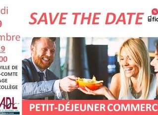 Petit-déjeuner Networking des commerçants - 09/09/19