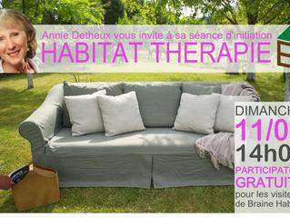 Initiation à l'habitat thérapie - 11 mars - 14h00